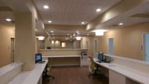 Interior - reception area